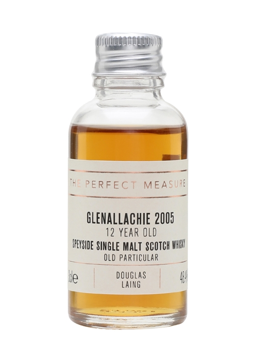 Glenallachie 2005 Sample / 12 Year Old / Old Particular Speyside Whisky
