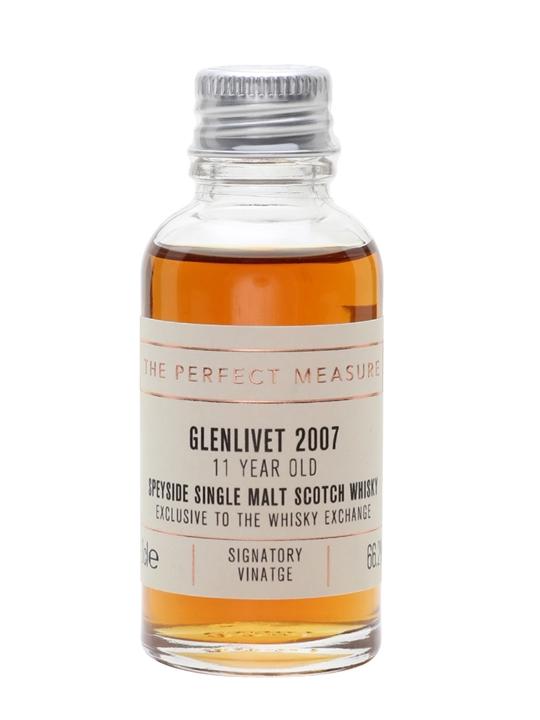 Glenlivet 2007 Sample / 11 Year Old / Twe Exclusive Speyside Whisky