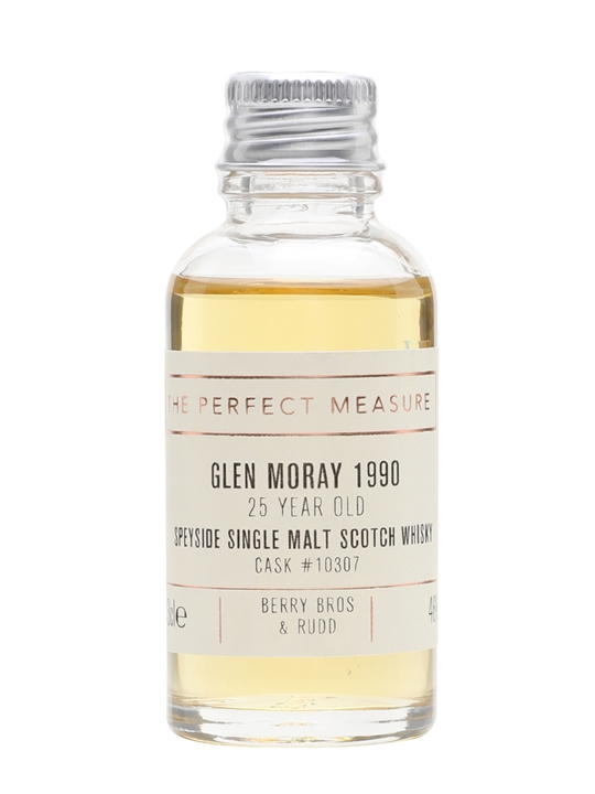 Glen Moray 1990 Sample / 25 Year Old / Berry Bros & Rudd Speyside Whisky