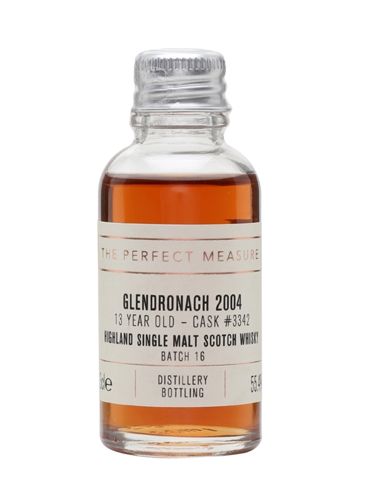 Glendronach 2004 Sample / 13 Year Old / Port Pipe Highland Whisky