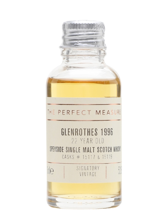 Glenrothes 1996 Sample / 22 Year Old / Signatory Speyside Whisky