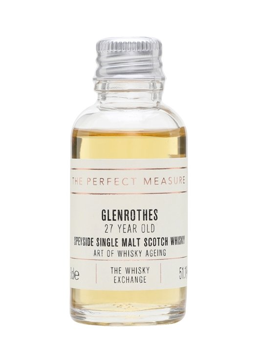 Glenrothes 27 Year Old Sample / Art Of Whisky Ageing Speyside Whisky