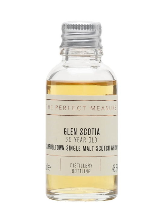 Glen Scotia 25 Year Old Sample Campbeltown Single Malt Scotch Whisky