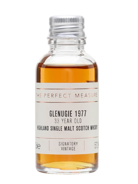 Glenugie 1977 Sample / 33 Year Old / Signatory Highland Whisky