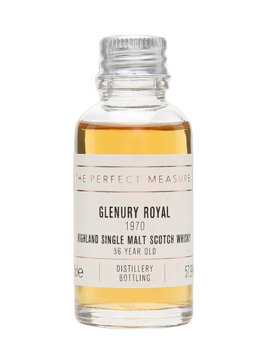 Glenury Royal 1970 Sample / 36 Year Old Highland Whisky