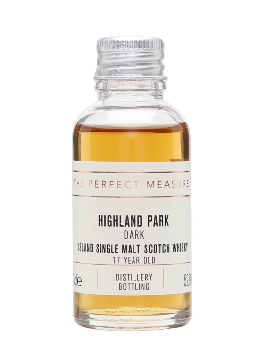 Highland Park The Dark Sample / 17 Year Old Island Whisky