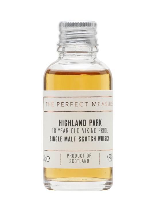 Highland Park 18 Year Old Sample Island Single Malt Scotch Whisky