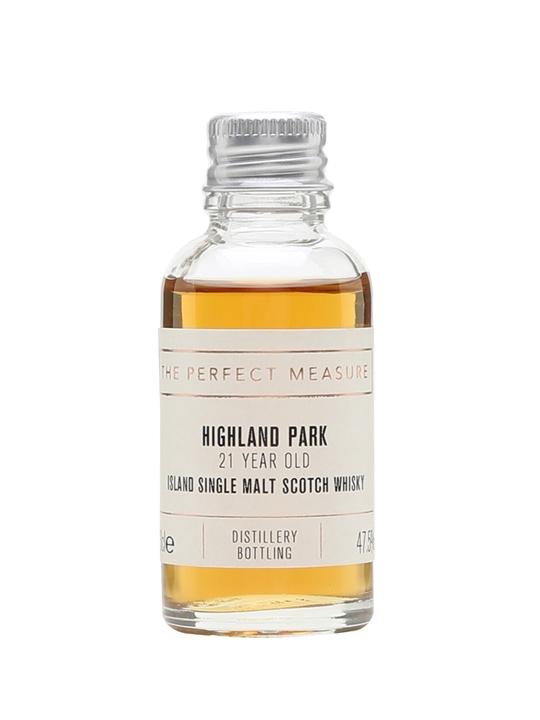 Highland Park 21 Year Old Sample Island Single Malt Scotch Whisky