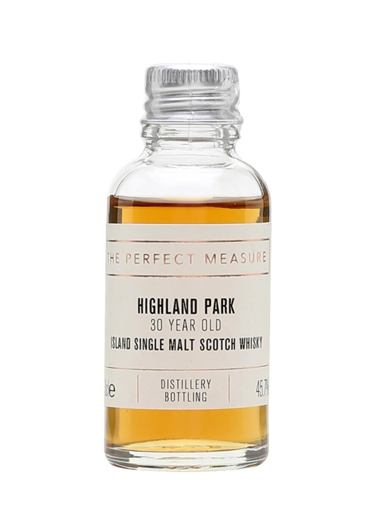 Highland Park 30 Year Old Sample Island Single Malt Scotch Whisky