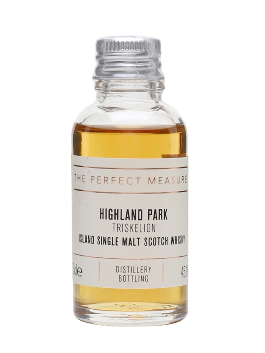 Highland Park Triskelion Sample Island Single Malt Scotch Whisky