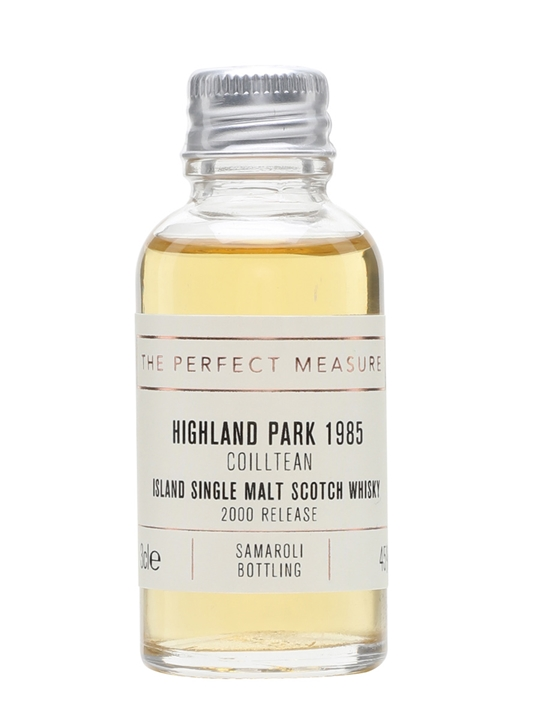 Highland Park 1985 Sample / 2000 Release / Coilltean Island Whisky