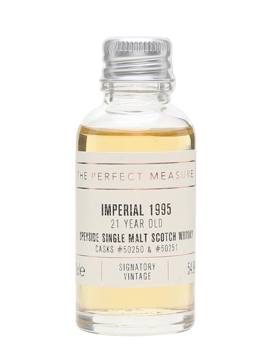 Imperial 1995 Sample / 21 Year Old / Signatory Speyside Whisky