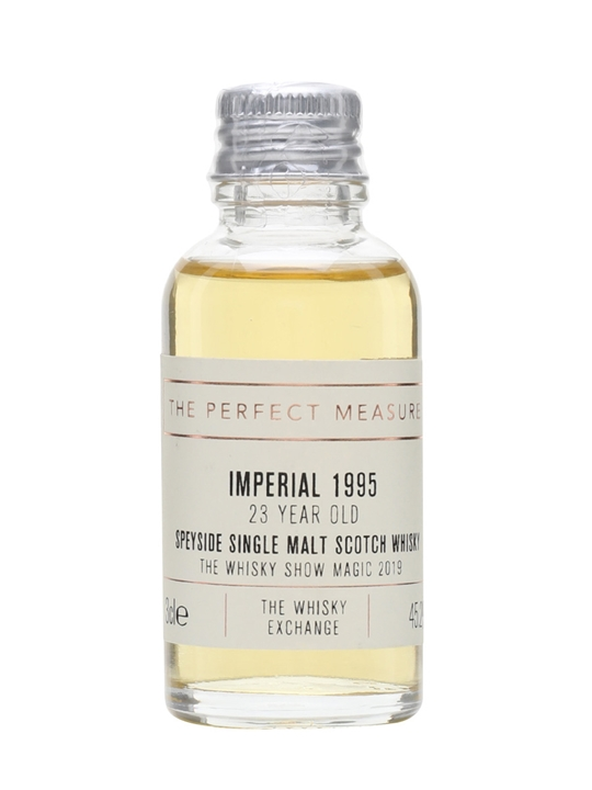 Imperial 1995 Sample / 23 Year Old / Whisky Show 2019 Speyside Whisky
