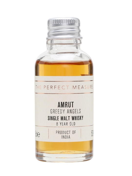 Amrut Greedy Angels Sample / 8 Year Old / 2017 Release Indian Whisky