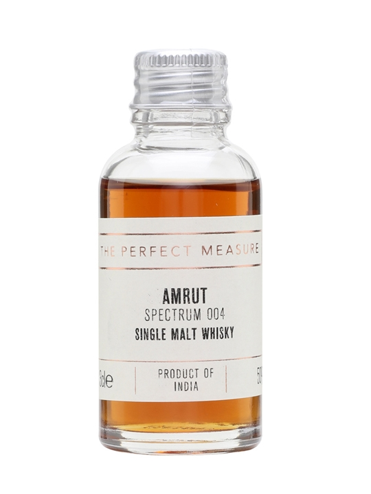 Amrut Spectrum 004 Sample Indian Single Malt Whisky