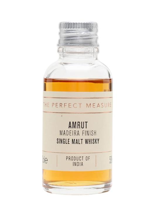 Amrut Madeira Finish Sample Indian Single Malt Whisky