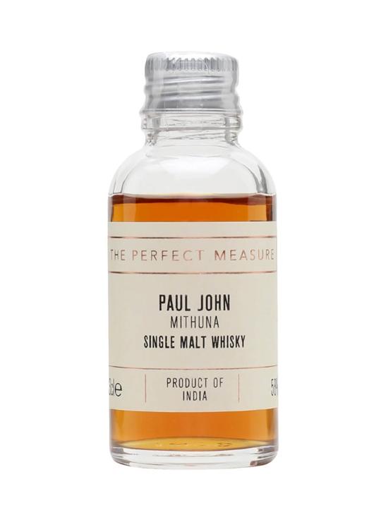 Paul John Mithuna Sample Single Malt Indian Whisky