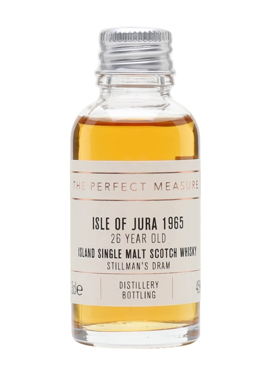 Isle of Jura 1965 Sample / 26 Year Old / Stillman's Dram Island Whisky