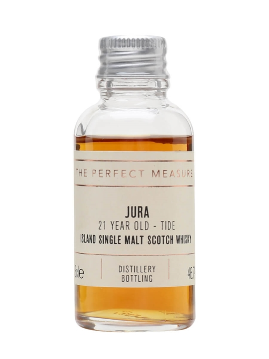 Isle Of Jura 21 Year Old Tide Sample Island Single Malt Scotch Whisky