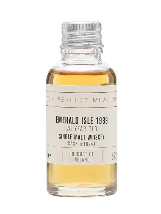 Emerald Isle 1989 Sample / 26 Year Old / Cask #16244 Irish Whisky