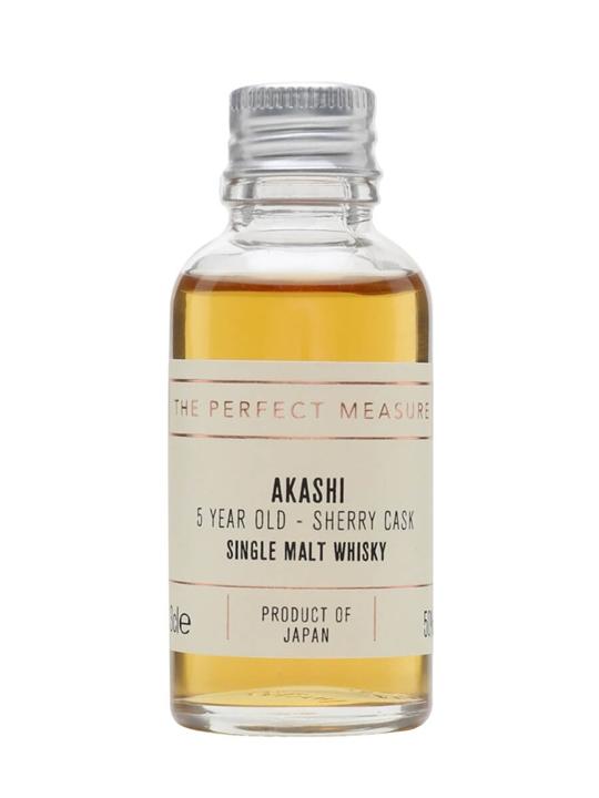 Akashi 5 Year Old Sherry Cask Sample Japanese Single Malt Whisky