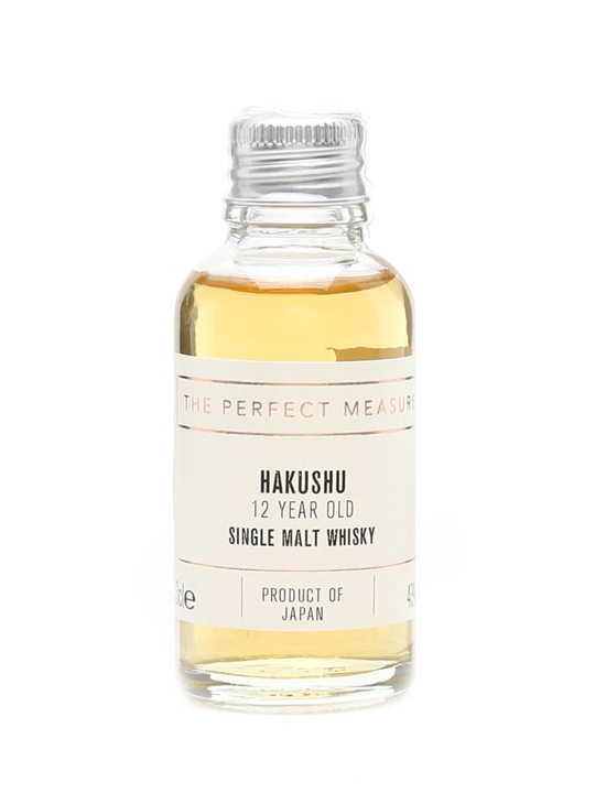 Suntory Hakushu 12 Year Old Sample Japanese Single Malt Whisky