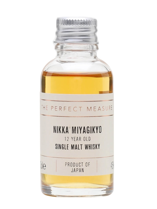 Nikka Miyagikyo 12 Year Old Sample Japanese Single Malt Whisky