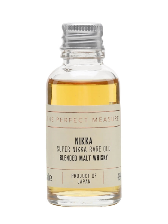 Super Nikka Sample / Rare Old Japanese Blended Whisky