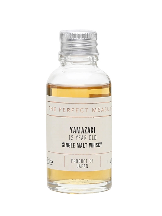 Suntory Yamazaki 12 Year Old Sample Japanese Single Malt Whisky