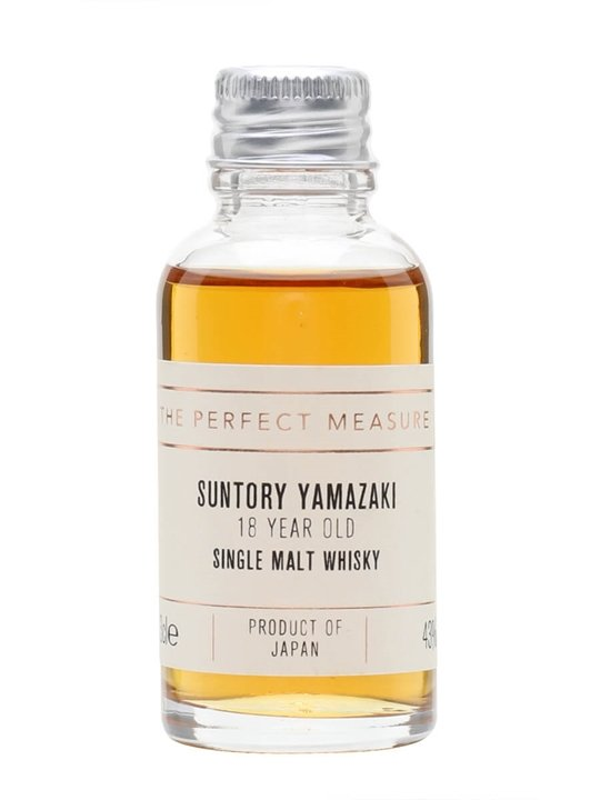 Suntory Yamazaki 18 Year Old Sample Japanese Single Malt Whisky