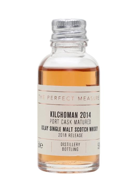 Kilchoman Port Cask Matured 2014 Sample / 2nd Edition Islay Whisky