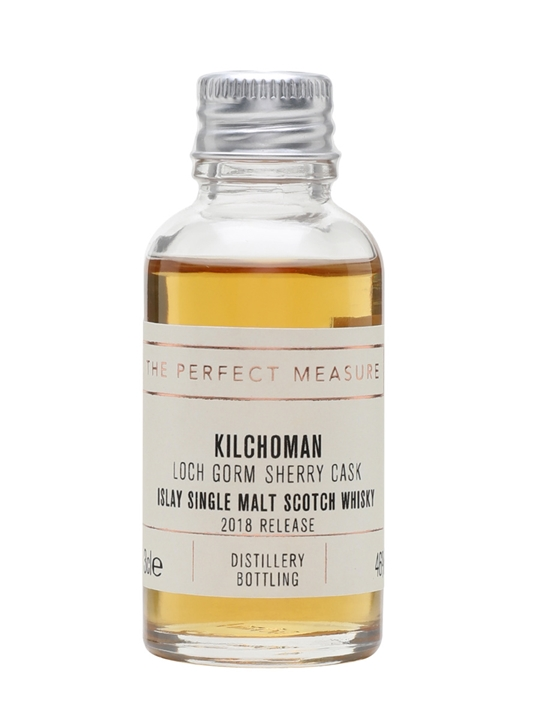 Kilchoman Loch Gorm Sample / 2018 Release Islay Whisky