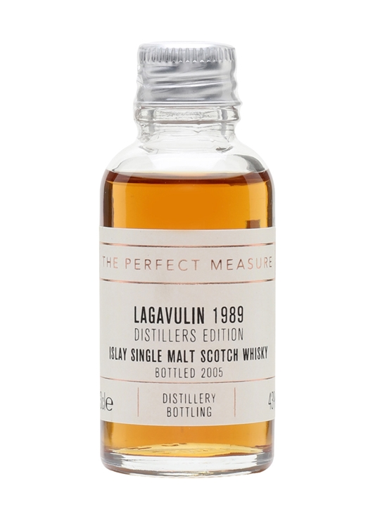 Lagavulin 1989 Distillers Edition Sample Islay Whisky