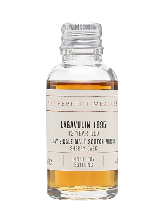 Lagavulin 1995 Sample / 12 Year Old / Sherry Cask Islay Whisky