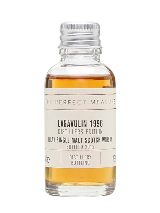 Lagavulin 1996 Distillers Edition Sample / Bot.2012 Islay Whisky
