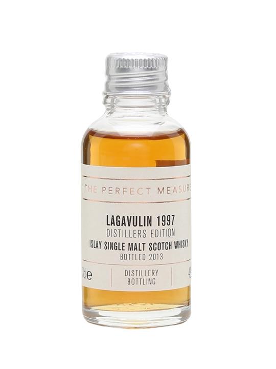 Lagavulin 1997 Distillers Edition Sample / Bot.2013 Islay Whisky