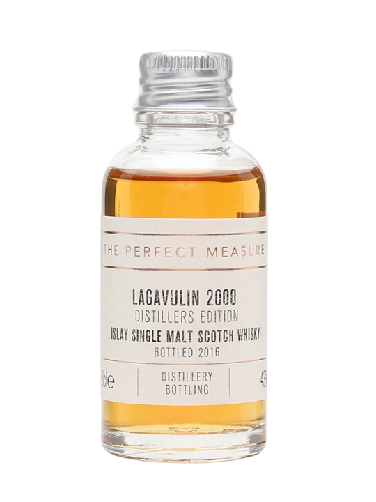 Lagavulin 2000 Distillers Edition Sample / Bot.2016 Islay Whisky