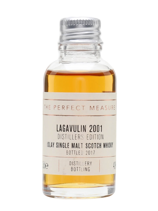 Lagavulin 2001 Distillers Edition Sample / Bot.2017 Islay Whisky