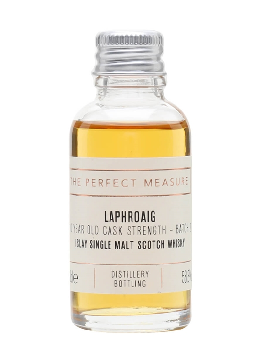 Laphroaig 10 Year Old Cask Strength Sample / Batch 002 Islay Whisky