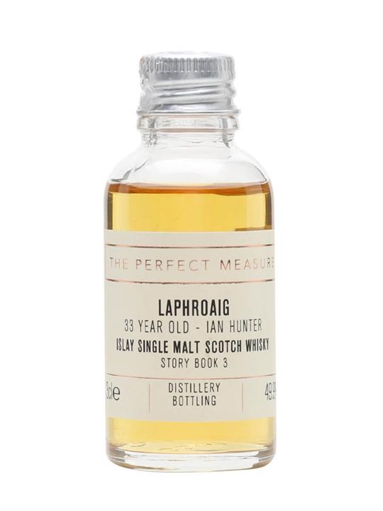 Laphroaig 33 Year Old (1987) Sample / The Ian Hunter Story 3 Islay Whisky