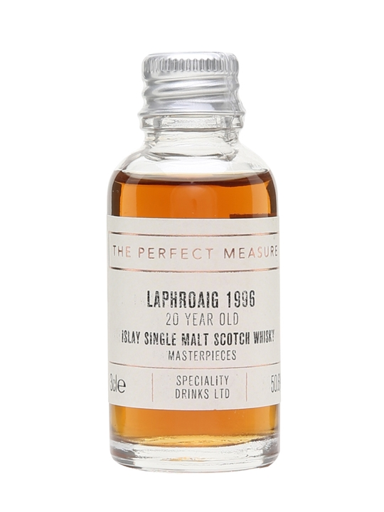 Laphroaig 1996 Sample / 20 Year Old / Masterpieces For Twe Islay Whisky