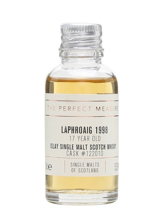 Laphroaig 1998 Sample / 17 Year Old / Single Malts Of Scotland Islay Whisky