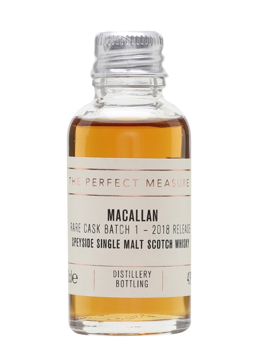 Macallan Rare Cask Batch No1 Sample / 2018 Release Speyside Whisky