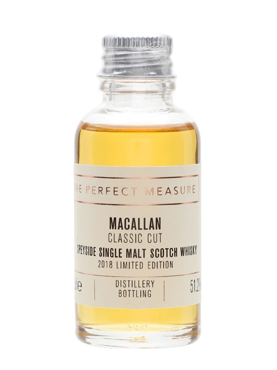 Macallan Classic Cut 2018 Sample Speyside Single Malt Scotch Whisky