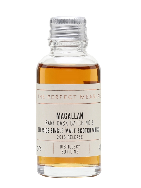 Macallan Rare Cask Batch No.2 Sample / 2018 Release Speyside Whisky