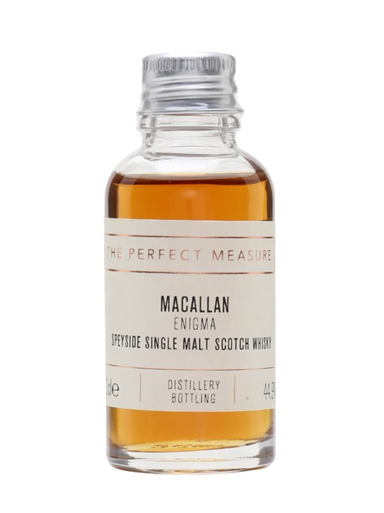 Macallan Enigma Sample Speyside Single Malt Scotch Whisky