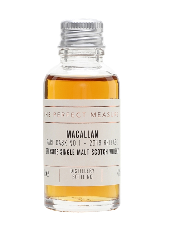 Macallan Rare Cask Batch No1 Sample / 2019 Release Speyside Whisky