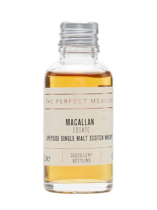 Macallan Estate Sample Speyside Single Malt Scotch Whisky