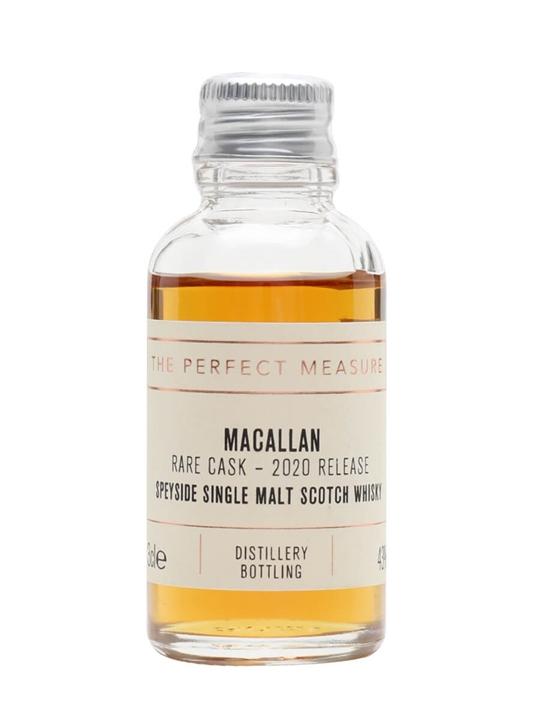 Macallan Rare Cask Sample / 2020 Release Speyside Whisky