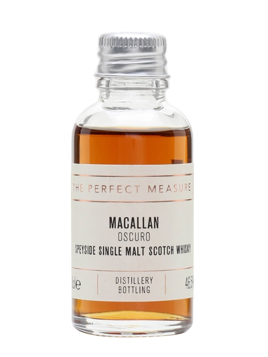 Macallan Oscuro Sample / 1824 Collection Speyside Whisky